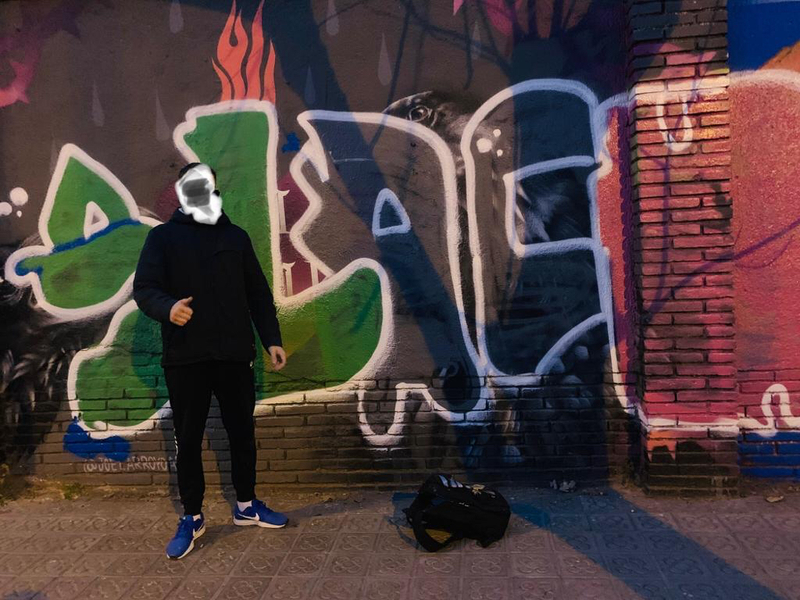 Wallspot - SlacK - Barcelona - Selva de Mar - Graffity - Legal Walls -