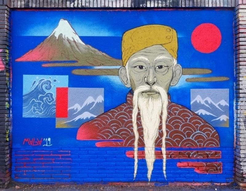 Wallspot - Maga - • Fuji • - Barcelona - Selva de Mar - Graffity - Legal Walls - Illustration