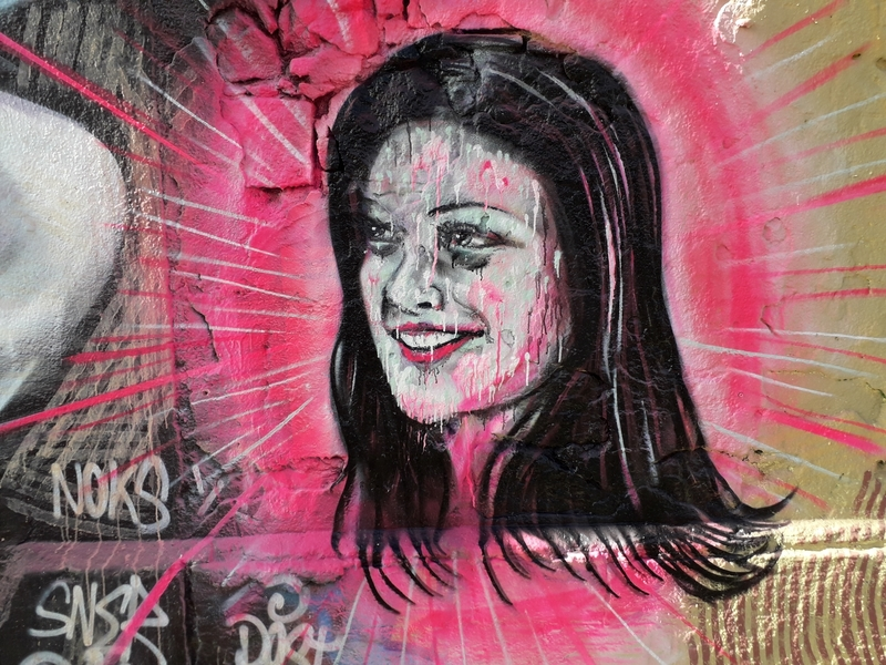 Wallspot - martinmonet/ceciliastenmark - Barcelona - Western Town - Graffity - Legal Walls -