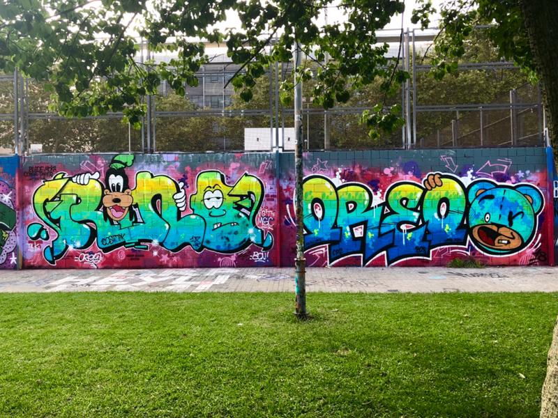 Wallspot - Zach OREO - Oreo / Rino - Barcelona - Drassanes - Graffity - Legal Walls - Letras, Ilustración, Otros