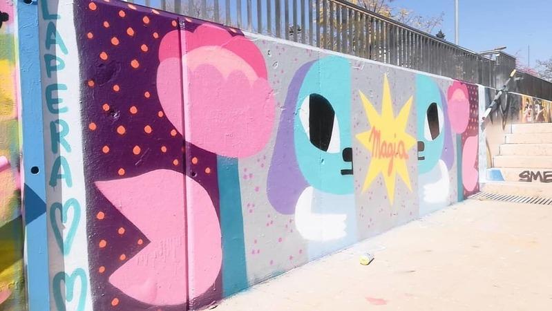 Wallspot - LaPera - MAGIA - LaPera - Barcelona - Mas Guinardó - Graffity - Legal Walls - Illustration