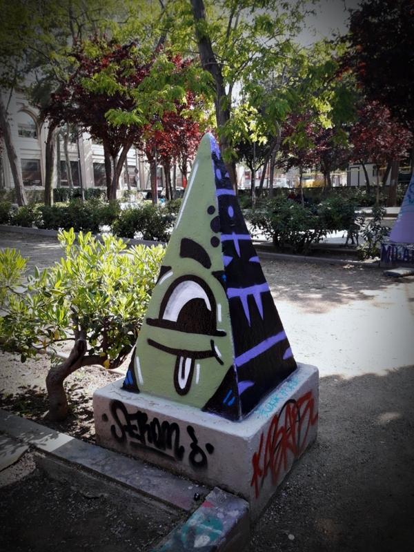 Wallspot - J.Bajo - Drassanes - Barcelona - Drassanes - Graffity - Legal Walls - Illustration