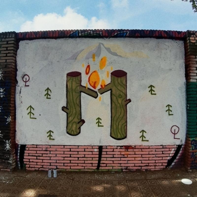 Wallspot - andjka - Barcelona - Selva de Mar - Graffity - Legal Walls -