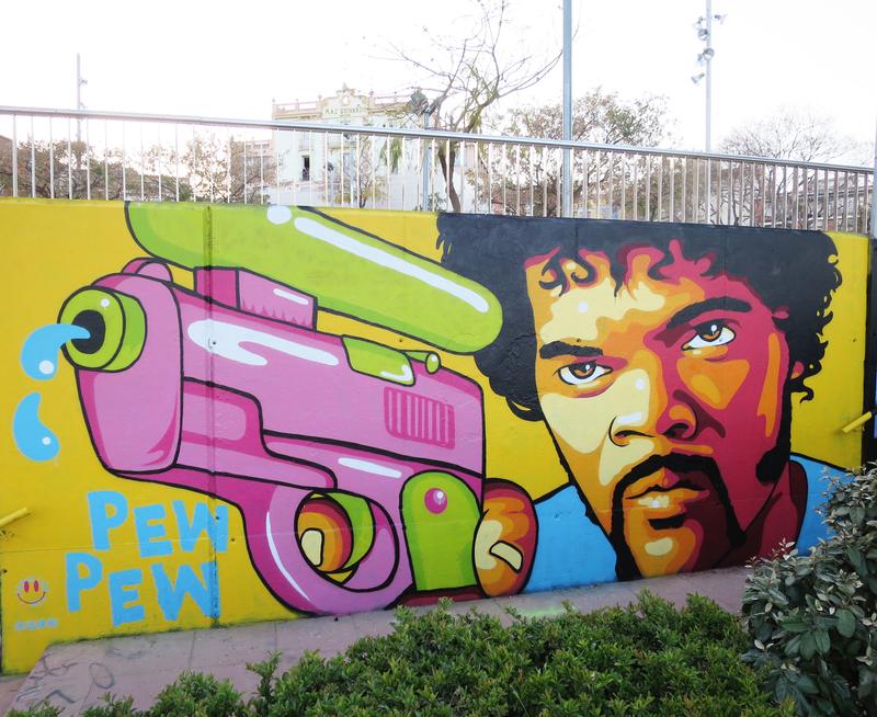 Wallspot - John Beijer - Mas Guinardó - John Beijer - Barcelona - Mas Guinardó - Graffity - Legal Walls - Others