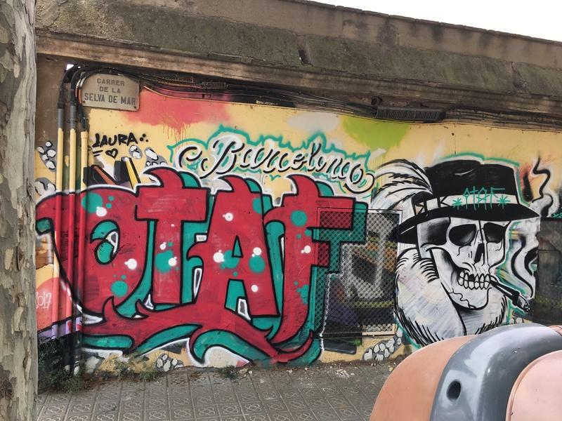 Wallspot - Mr.Otaf - Selva de Mar - Mr.Otaf - Barcelona - Selva de Mar - Graffity - Legal Walls - ,