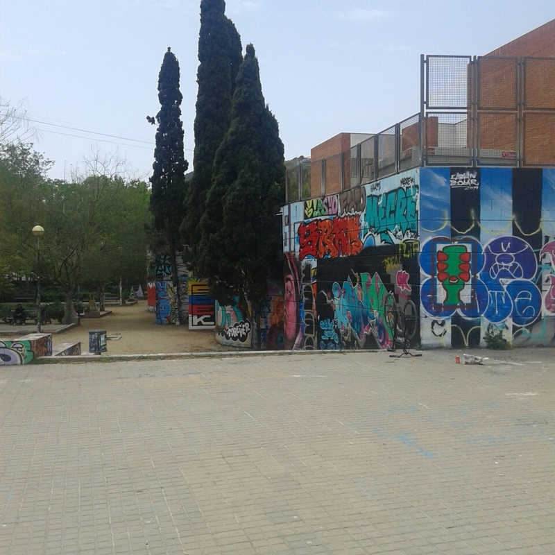 Wallspot - Janomada - Drassanes - Barcelona - Drassanes - Graffity - Legal Walls - Illustration