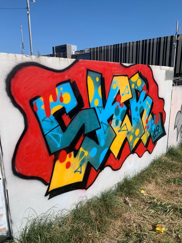 Wallspot - esekaerre1 - Parc de la Bederrida - Barcelona - Parc de la Bederrida - Graffity - Legal Walls - Letters
