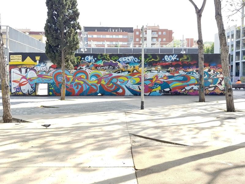Wallspot - Spencer - urban mush - Barcelona - Tres Xemeneies - Graffity - Legal Walls -