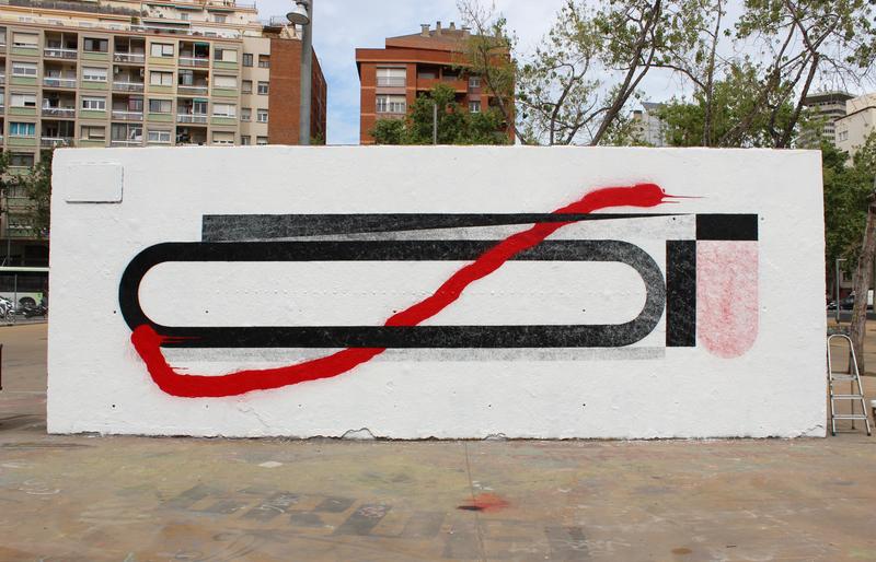 Wallspot - PolVatuaLOlla - Tres Xemeneies - PolVatuaLOlla - Barcelona - Tres Xemeneies - Graffity - Legal Walls -