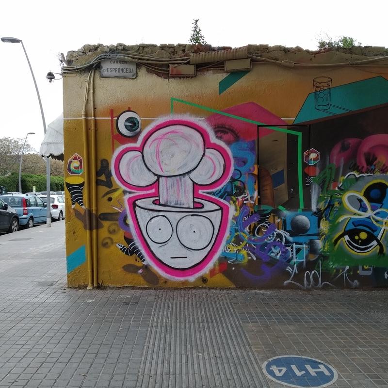 Wallspot - Firu.Lete - All it's OK Barcelona - Barcelona - Western Town - Graffity - Legal Walls -