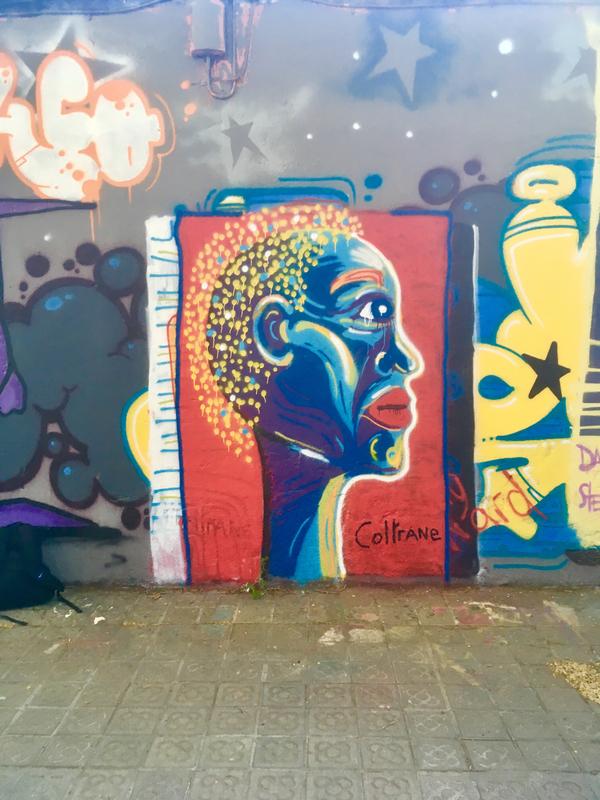 Wallspot - Coltrane - Barcelona - Selva de Mar - Graffity - Legal Walls -