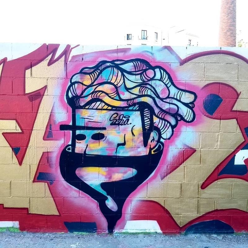 Wallspot - selva - El Chamo Edison - Barcelona - Poble Nou - Graffity - Legal Walls - Letras