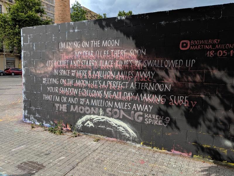 Wallspot - Boo Wilbury - Poble Nou - Boo Wilbury with Martina Milone - Barcelona - Poble Nou - Graffity - Legal Walls - Letras, Ilustración