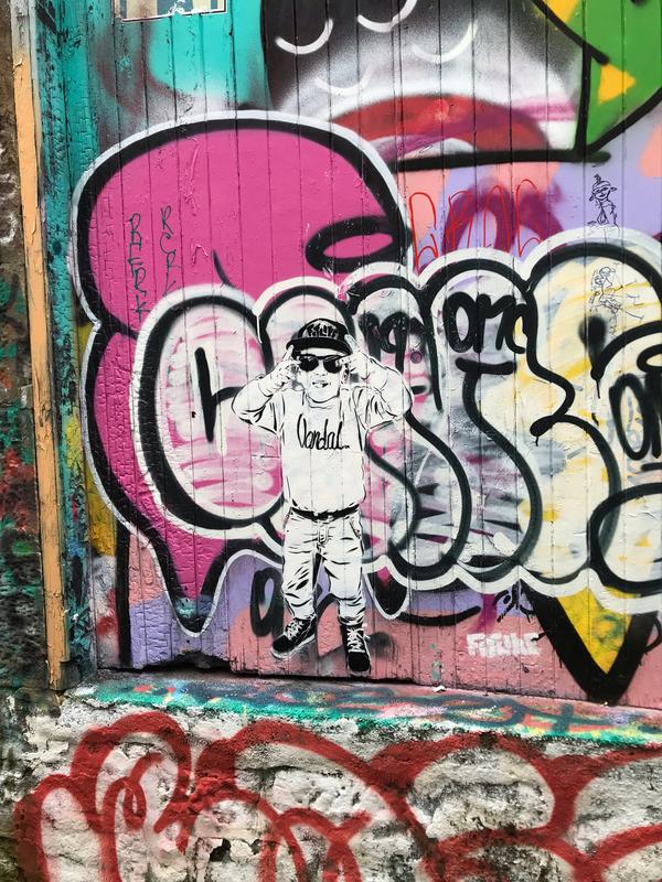 Wallspot - FitLike  - Mary Ann Lane - Dundee - Mary Ann Lane - Graffity - Legal Walls - Stencil