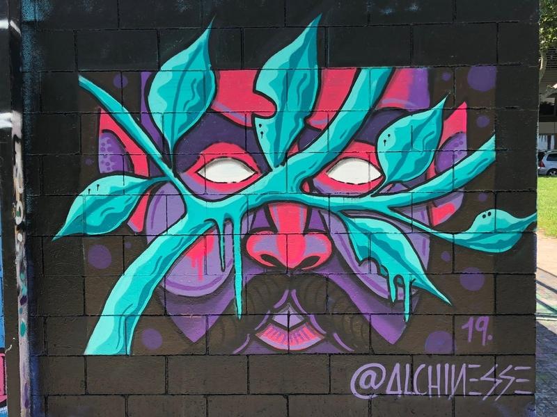 Wallspot - alchinesse - Drassanes - Barcelona - Drassanes - Graffity - Legal Walls - Illustration