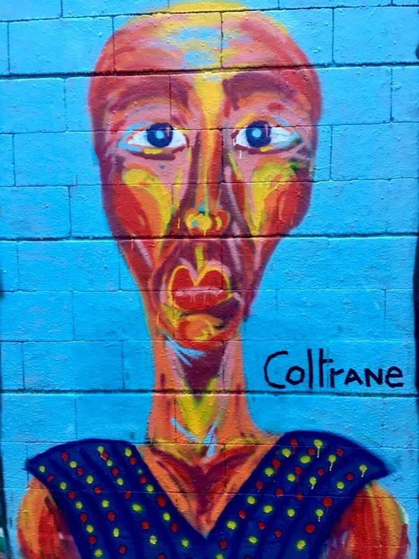 Wallspot - Coltrane - Drassanes - Barcelona - Drassanes - Graffity - Legal Walls - Illustration