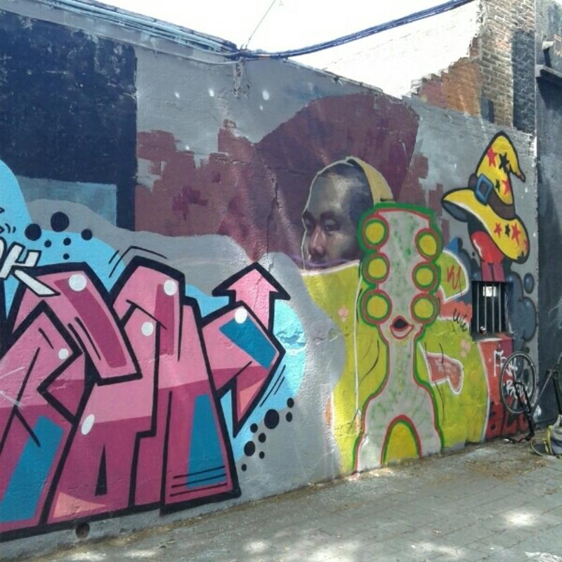 Wallspot - Janomada - Barcelona - Selva de Mar - Graffity - Legal Walls -