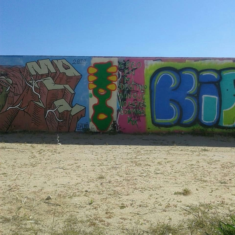 Wallspot - Janomada - Barcelona - Forum Place - Graffity - Legal Walls - Ilustración