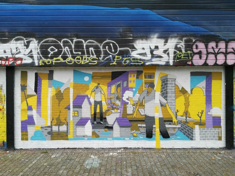 Wallspot - bemie - Rotterdam - Croos - Graffity - Legal Walls -