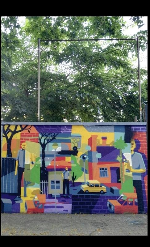 Wallspot - bemie - Barcelona - Agricultura - Graffity - Legal Walls -