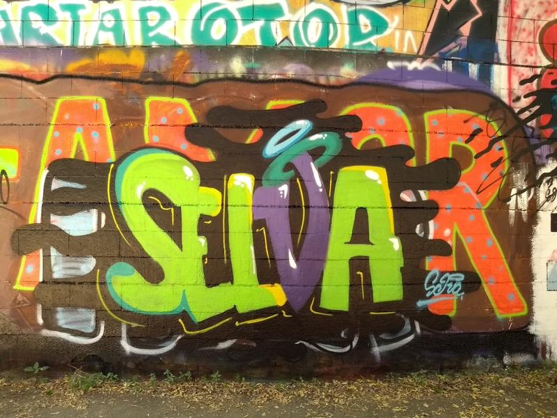 Wallspot - selva - Selva - Barcelona - Drassanes - Graffity - Legal Walls - Letters