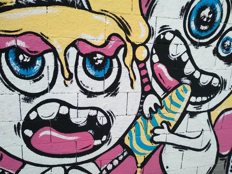 Wallspot - natalia molinero - Can I try?  - Barcelona - Drassanes - Graffity - Legal Walls - Il·lustració