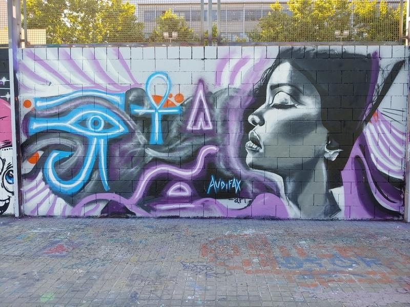 Wallspot - Audifax - Drassanes - Audifax - Barcelona - Drassanes - Graffity - Legal Walls -