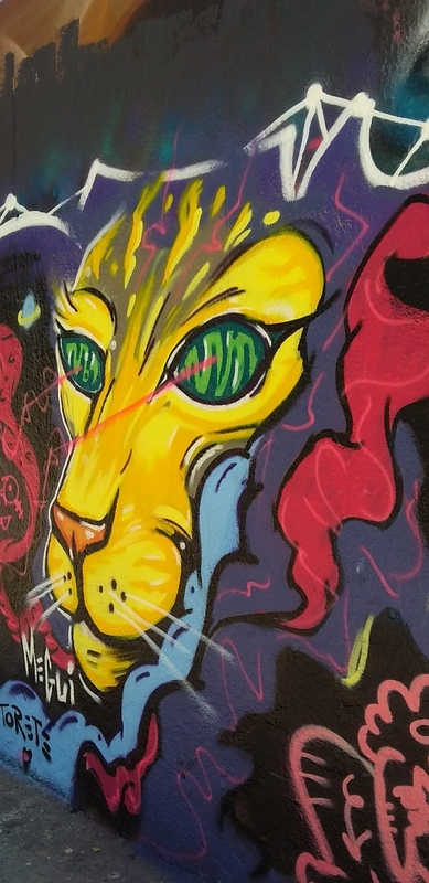 Wallspot - MEGUI - Barcelona - Tres Xemeneies - Graffity - Legal Walls -