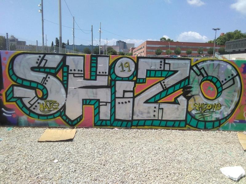 Wallspot - skizone - Barcelona - Parc de la Bederrida - Graffity - Legal Walls -