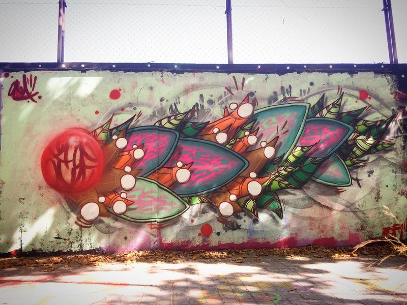 Wallspot - ONA - Agricultura - ONA - Barcelona - Agricultura - Graffity - Legal Walls - , ,
