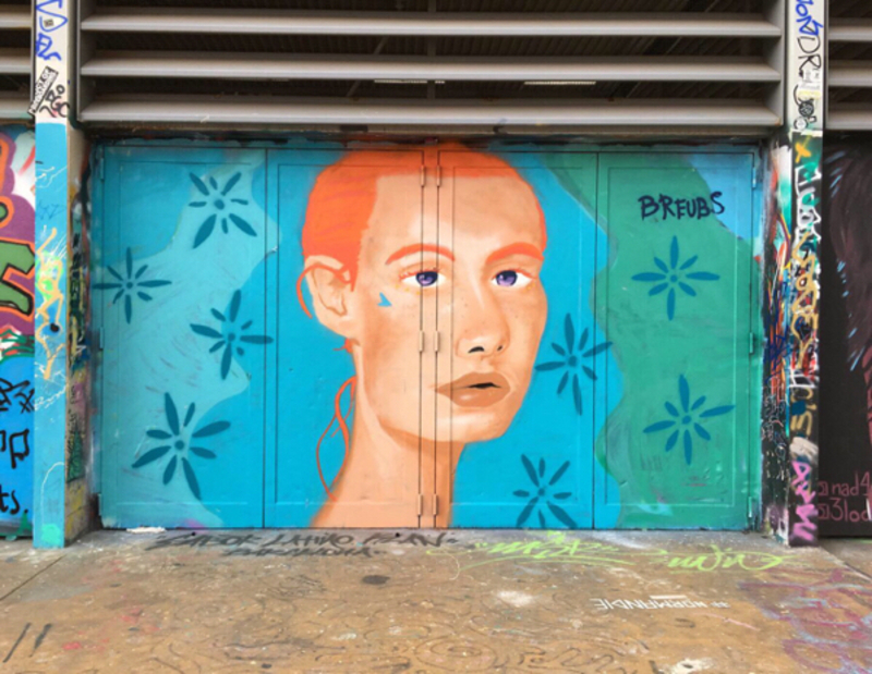 Wallspot - breubs - Tres Xemeneies Graffiti - Barcelona - Tres Xemeneies - Graffity - Legal Walls - Il·lustració