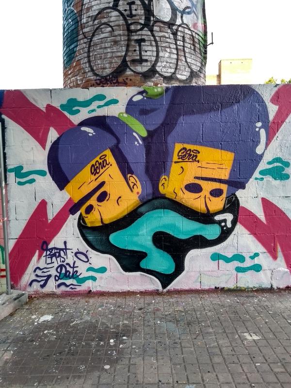 Wallspot - selva - 1rst Date - Barcelona - Poble Nou - Graffity - Legal Walls - Ilustración