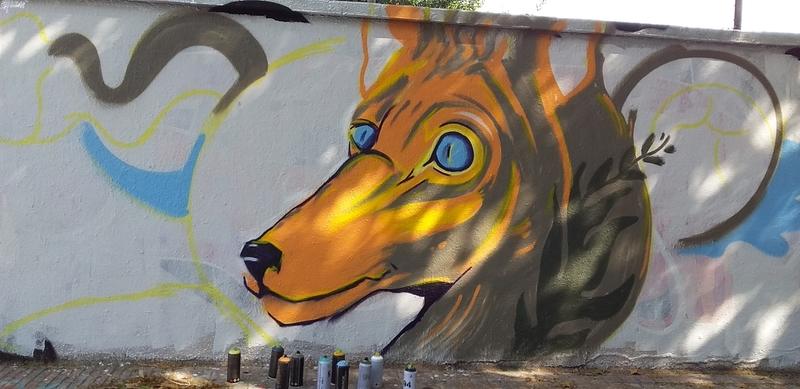 Wallspot - MEGUI - Barcelona - Agricultura - Graffity - Legal Walls -