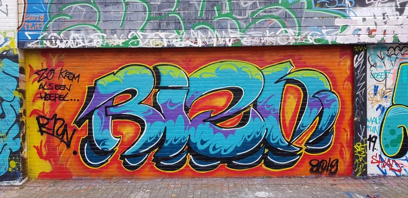 Wallspot - Riznind - Rotterdam - Croos - Graffity - Legal Walls -