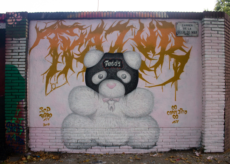 Wallspot - JCP Bardo - Barcelona - Selva de Mar - Graffity - Legal Walls -