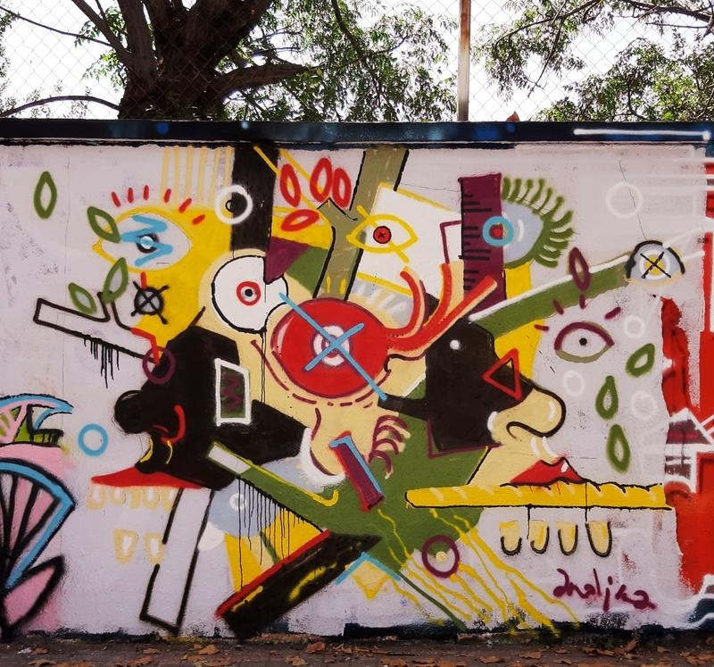 Wallspot - andjka - Agricultura - last face - Barcelona - Agricultura - Graffity - Legal Walls - Il·lustració