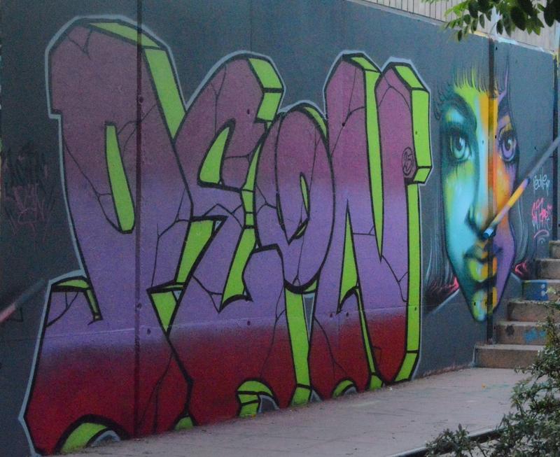 Wallspot - peone1 - PEONE-ANTARES - Barcelona - Mas Guinardó - Graffity - Legal Walls - Letters, Illustration