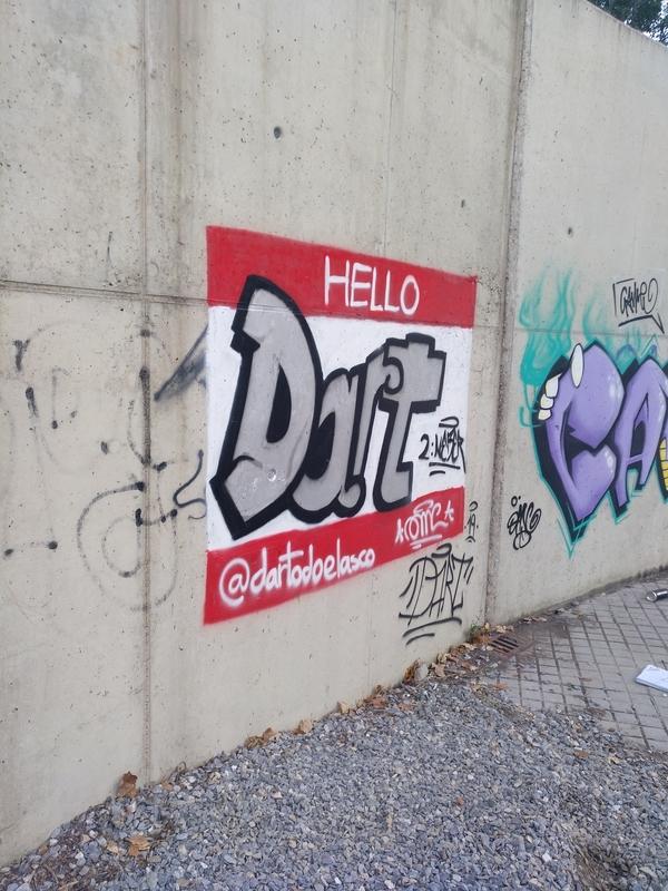 Wallspot - Dart - Ponferrada - El Canal - Graffity - Legal Walls -