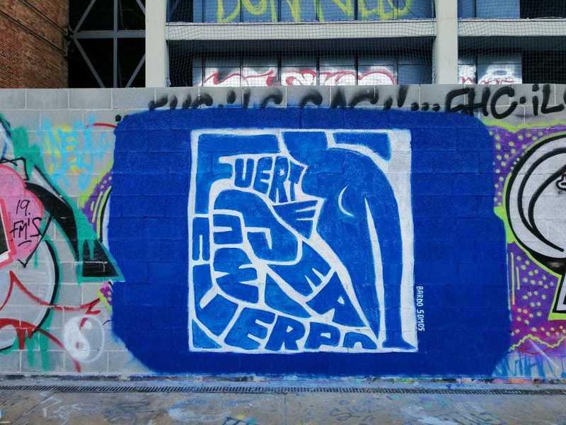 Wallspot - Bardo Somos - Tres Xemeneies - Bardo Somos - Barcelona - Tres Xemeneies - Graffity - Legal Walls - Illustration