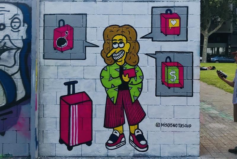 Wallspot - Miso - Drassanes - Miso - Barcelona - Drassanes - Graffity - Legal Walls - Illustration