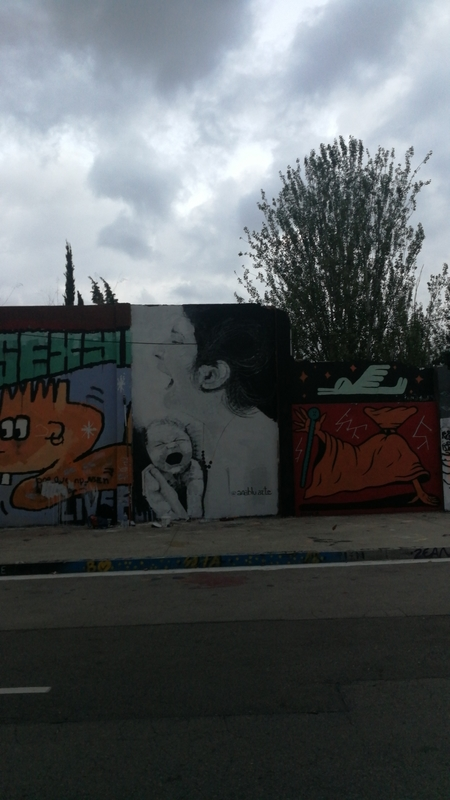 Wallspot - Ana BLÜ - Barcelona - Agricultura - Graffity - Legal Walls -