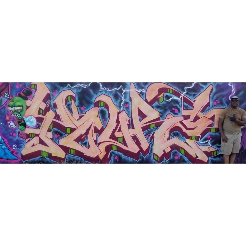 Wallspot - Yourz - Barcelona - Forum beach - Graffity - Legal Walls -