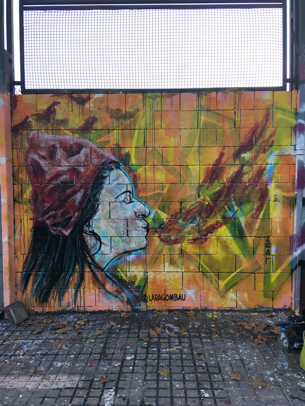 Wallspot - araL - Barcelona - Drassanes - Graffity - Legal Walls -