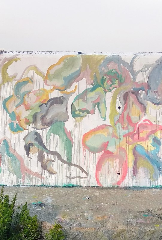 Wallspot - MariaCuellar - Forum beach - MariaCuellar - Barcelona - Forum beach - Graffity - Legal Walls - Altres