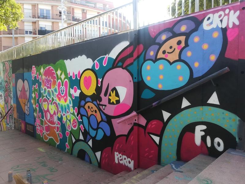 Wallspot - LaPera - Mas Guinardó - LaPera - Barcelona - Mas Guinardó - Graffity - Legal Walls - Il·lustració