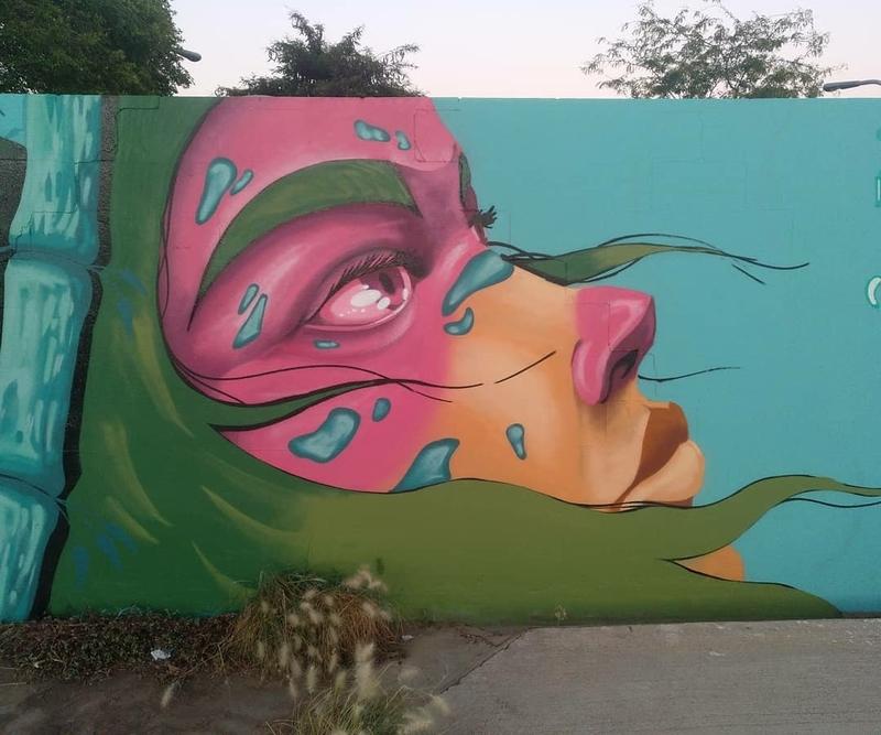 Wallspot - Uri KTHR - Barcelona - Parc de la Bederrida - Graffity - Legal Walls -