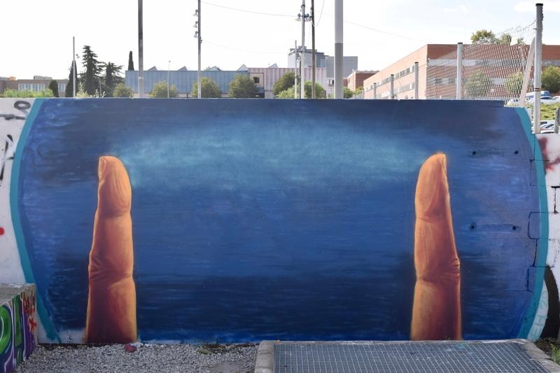 Wallspot - EH - Barcelona - Parc de la Bederrida - Graffity - Legal Walls -