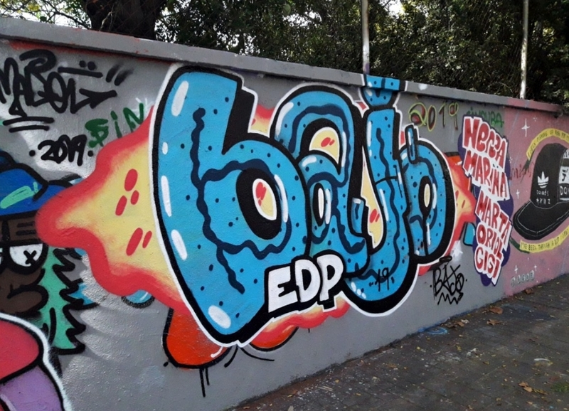 Wallspot - J.Bajo - Queee ascooo de boquillaaaas  - Barcelona - Agricultura - Graffity - Legal Walls - Lletres