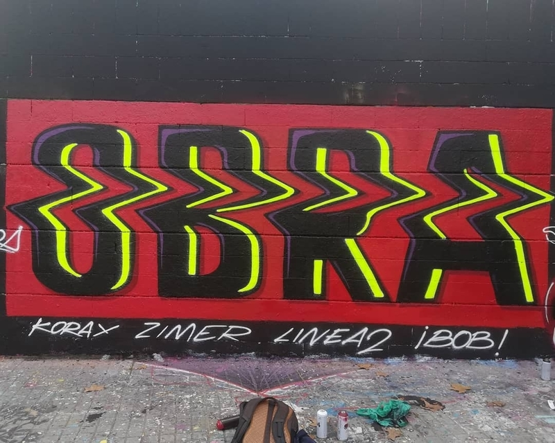 Wallspot - Toni obra - Drassanes - Barcelona - Drassanes - Graffity - Legal Walls - Letters