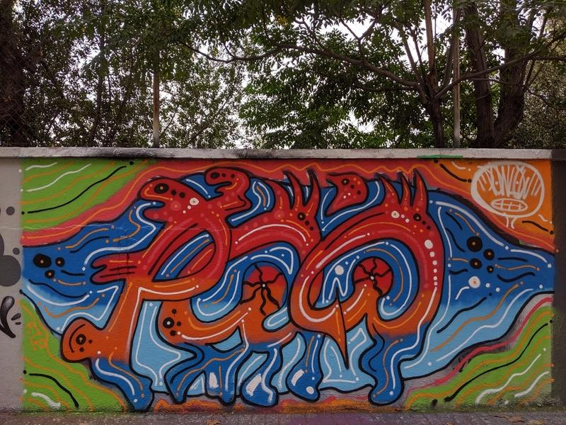 Wallspot - Powlow - Agricultura - Barcelona - Agricultura - Graffity - Legal Walls - Lletres
